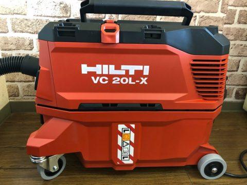 HILTI/VC 20L-X/最新型の集じん機です^^;