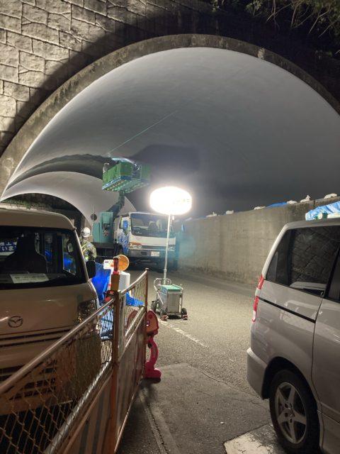 静岡県内夜勤工事/(株)リペアクラフト/京都市
